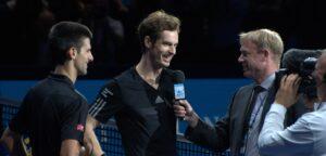 Novak Djokovic en Andy Murray - © Francisco Antunes (Flickr)
