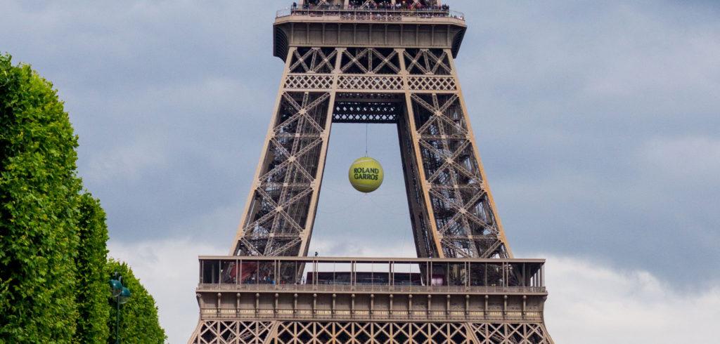 Roland Garros Eiffeltoren - © SheraleeS (iStock)