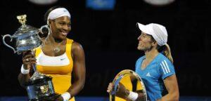 Serena Williams en Justine Henin - © Philippe Buissin (Imagellan)