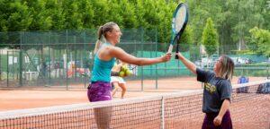 Yanina Wickmayer en Kristi Panken - © Nicolas Van Bruysel