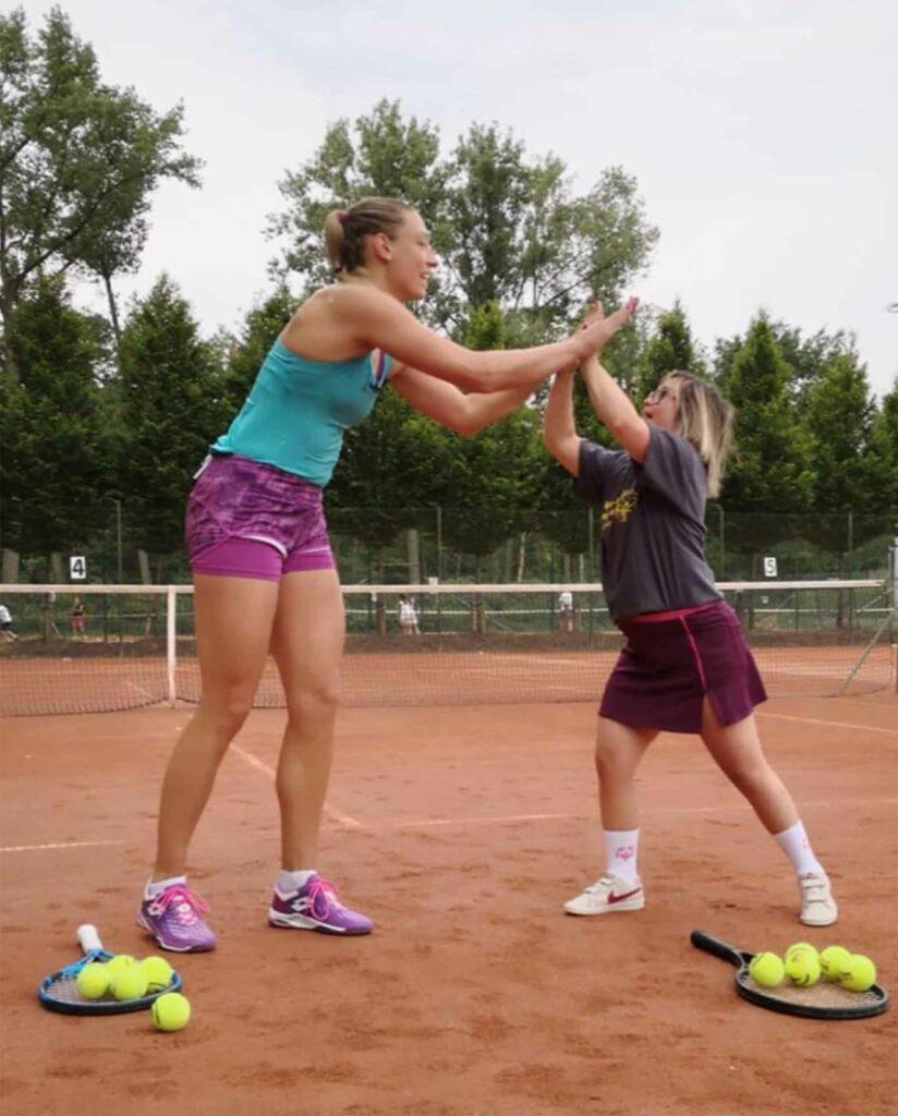 Yanina Wickmayer en Kristi Panken - © Special Olympics Belgium (Instagram)
