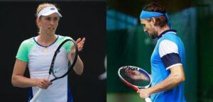 Elise Mertens en Ruben Bemelmans - © Jimmie48 Tennis Photography en AtaBattisti