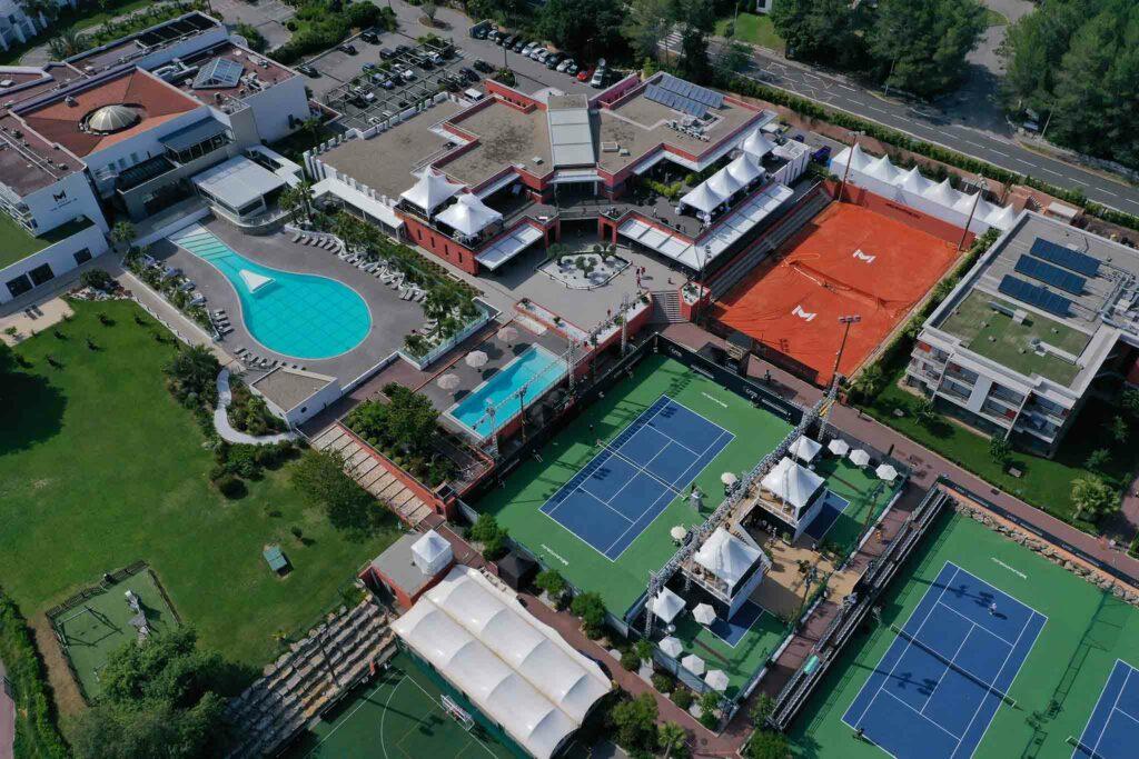 Mouratoglou Tennis Academy - © Ultimate Tennis Showdown