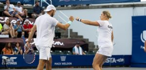 Jack Sock en Kim Clijsters - © World TeamTennis