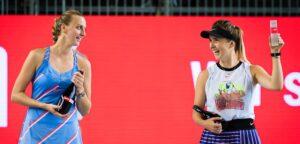Petra Kvitova en Elina Svitolina - © Jimmie48 Tennis Photography
