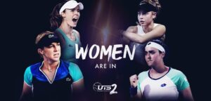 UTS2 vrouwen - © Ultimate Tennis Showdown