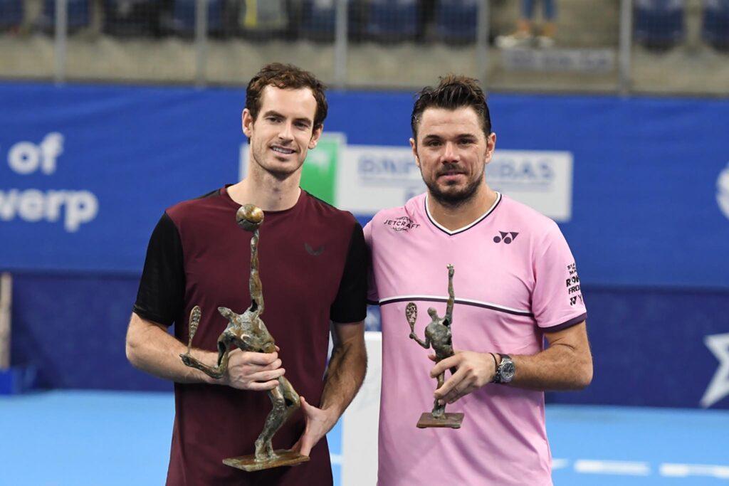 Andy Murray en Stan Wawrinka - © European open