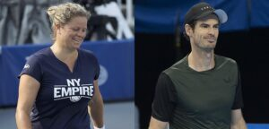 Kim Clijsters en Andy Murray - © World TeamTennis en Christophe Moons