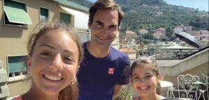 Roger Federer, Vittoria en Carola - © YouTube