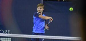 David Goffin - © Ultimate Tennis Showdown