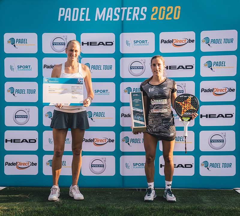Elyne Boeykens en Helena Wyckaert - © Tennis Vlaanderen