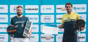 Guillaume Crasson en Jerome Peeters - © Tennis Vlaanderen