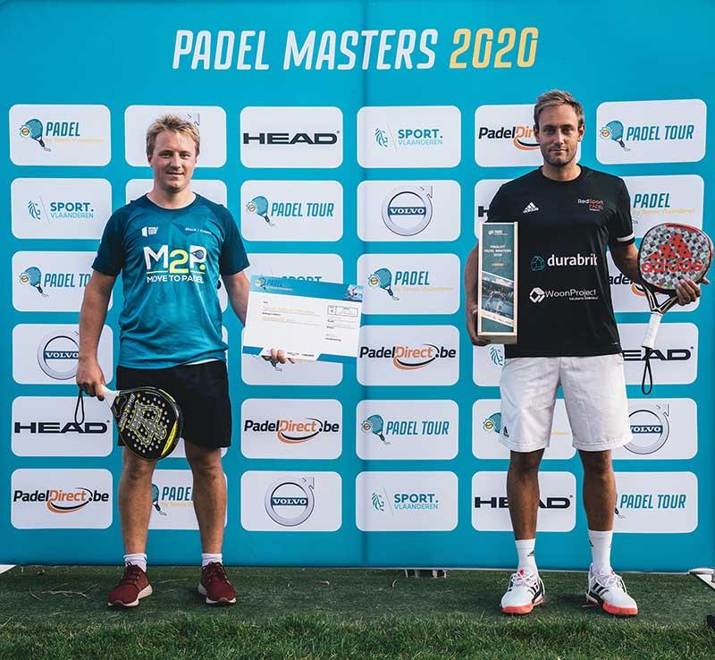 Jeremy Gala en Nick Braet - © Tennis Vlaanderen
