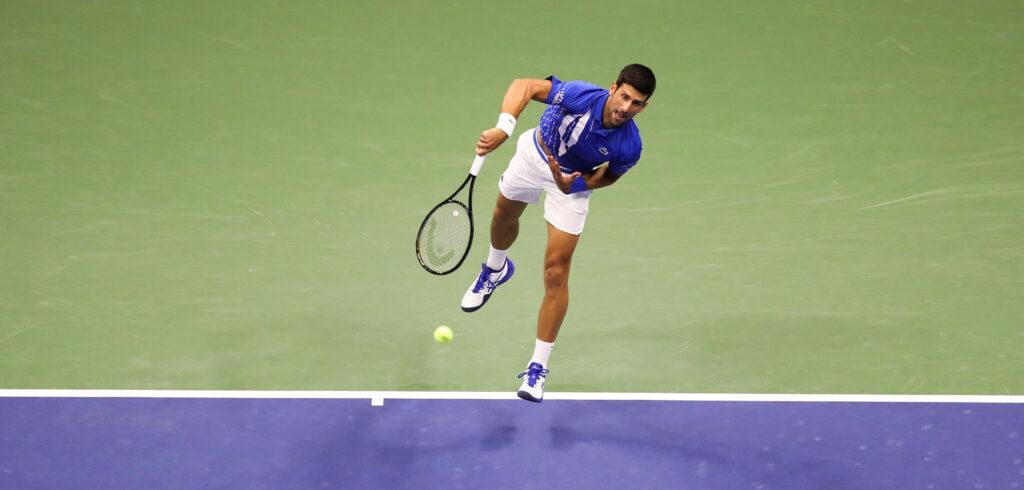 Novak Djokovic - © Brad Penner (USTA)