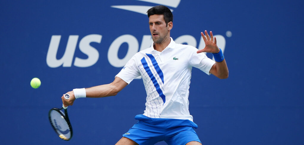 Novak Djokovic - © Darren Carroll (USTA)