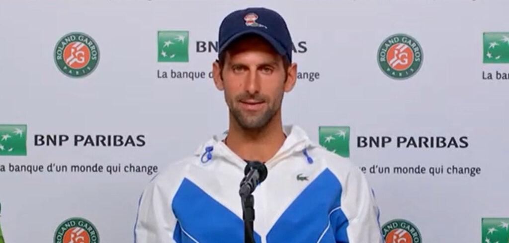 Novak Djokovic - © FFT