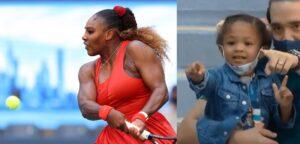 Serena Williams en Olympia Ohanian - © Simon Bruty (USTA) en Twitter