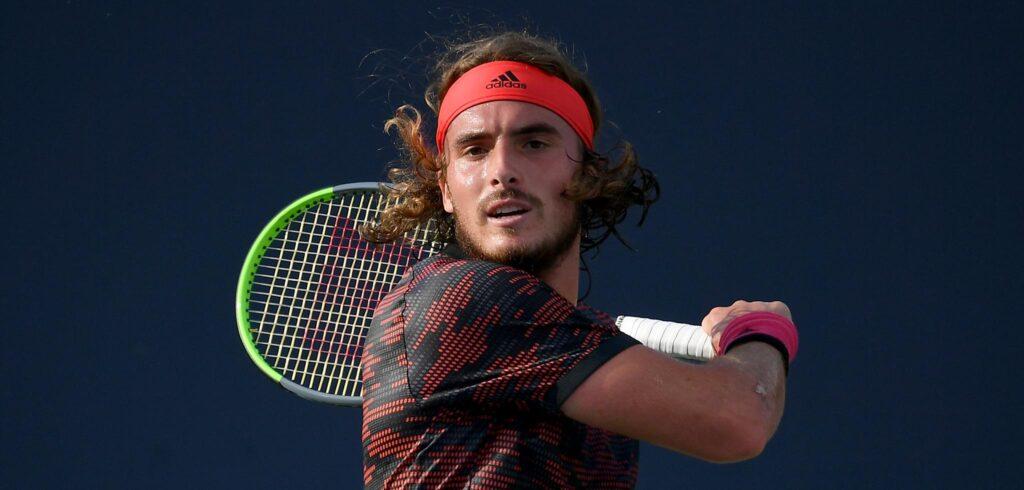Stefanos Tsitsipas - © Ultimate Tennis Showdown
