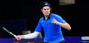 Milos Raonic - © Laurie Dieffembacq (Belga/European Open)