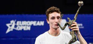 Ugo Humbert - © Laurie Dieffembacq (Belga/European Open)