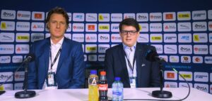 Dick Norman en Kristoff Puelinckx - © Laurie Dieffembacq (Belga/European Open)