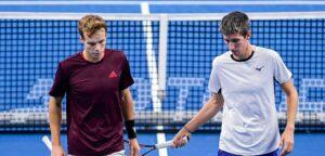 Michael Geerts en Yannick Mertens - © Laurie Dieffembacq (European Open)