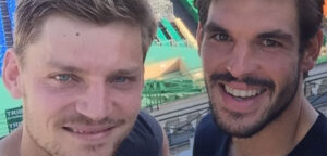 David Goffin en Germain Gigounon - © Germain Gigounon (Instagram)