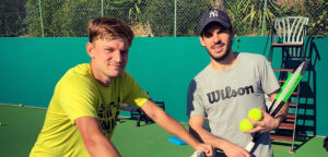 David Goffin en Germain Gigounon - © David Goffin (Facebook)