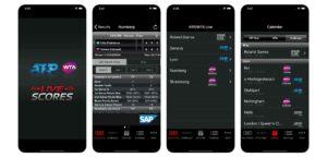 WTA/ATP Live Sores App - © App Store