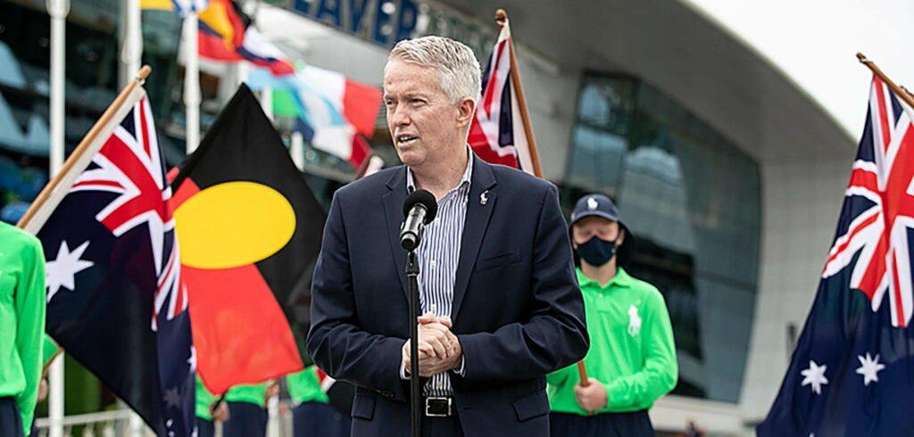 Craig Tiley - © Fiona Hamilton (Tennis Australia)