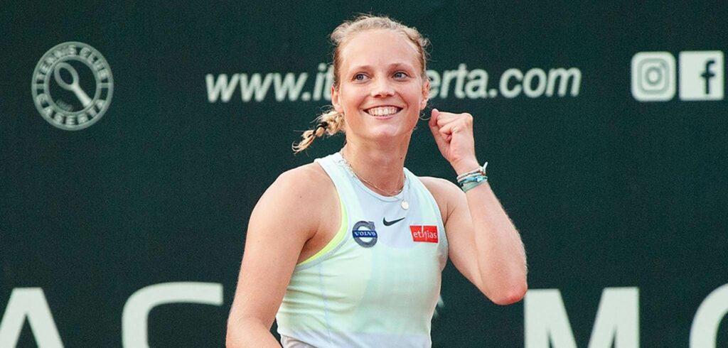 Kimberley Zimmermann - © Tennis Club Caserta