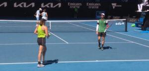 Sander Gillé en Hayley Carter - © Tennis Australia