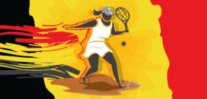 Belgisch tennis vrouwen - © istarif (iStock)