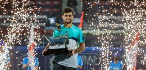 Aslan Karatsev - © Dubai Duty Free Tennis Championships