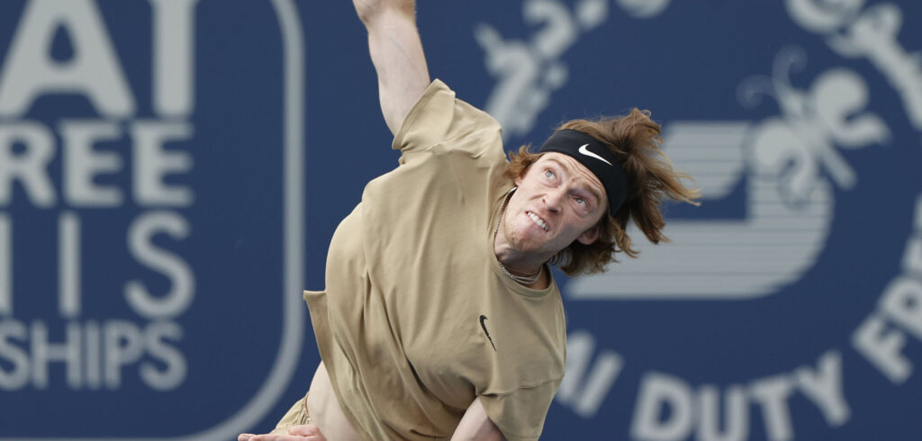 Andrey Rublev - © Dubai Duty Free Tennis Championships
