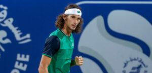 Lloyd Harris - © Dubai Duty Free Tennis Championships