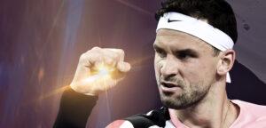 Grigor Dimitrov - © Ultimate Tennis Showdown
