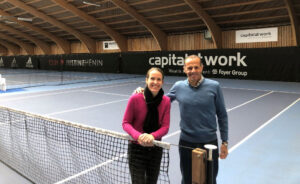 Justine Henin en Carlos Rodriguez