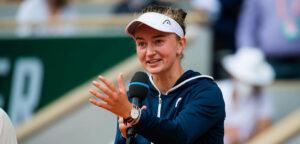 Barbora Krejcikova - © Jimmie48 Tennis Photography