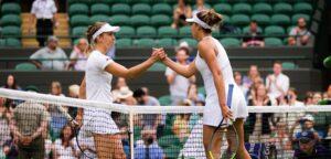 Elise Mertens en Madison Keys - © Jimmie48 Tennis Photography