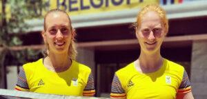 Elise Mertens en Alison Van Uytvanck - © Team Belgium (Instagram)