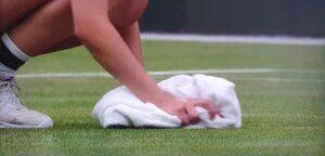 Gras drogen op Wimbledon - © Twitter