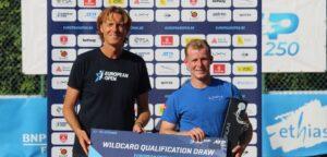 Gauthier Onclin en Dick Norman - © European Open