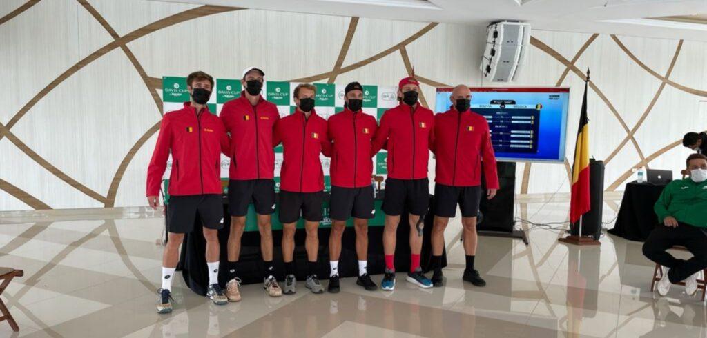 Het Belgische Davis Cup-team - © Tennis Vlaanderen