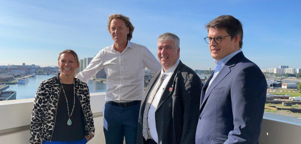 Sabine Appelmans, Dick Norman, Peter Wouters en Kristoff Puelinckx - © Melissa Van de Wiele