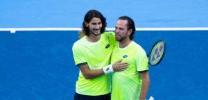 Lloyd Harris en Xavier Malisse - © European Open