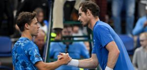 Diego Schwartzman en Andy Murray - © European Open